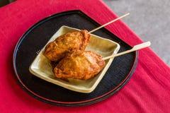 Obiten - Fried fish cake, famous snack in Obi, Miyasaki Royalty Free Stock Photography