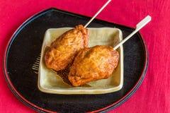Obiten - Fried fish cake, famous snack in Obi, Miyasaki Royalty Free Stock Images