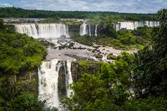 objętych iguazu brazylijskie zdjęcie stock