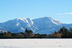 objętych górski śnieg Obraz Royalty Free