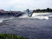 objętych Niagara Most Obserwacja pokład Obrazy Stock