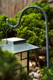 Obj_garden_011. A solar powered garden decoration lamp royalty free stock photos
