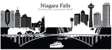 objętych Niagara Ilustracji