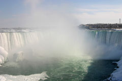 objętych podkowa Niagara Obrazy Stock