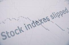 objętych rynku Zdjęcia Stock