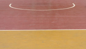 Object. Close-up a street basketball court Royalty Free Stock Image