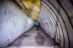 Object 221, abandoned soviet bunker, former reserve command post of Black Sea Fleet Royalty Free Stock Photography