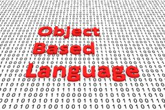 Object based language Royalty Free Stock Photos