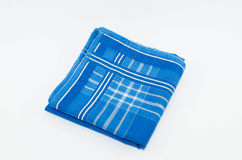 A Object of Blue Scott Handkerchief isolated. A Object of Blue Scott Handkerchief isolated on white background Stock Images