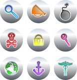 Object buttons Royalty Free Stock Photo