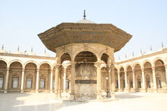 Object in de Mohammed Ali Moskee in Egypte Royalty Free Stock Photos