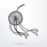Object. Dream catcher (wind) isolated object Royalty Free Stock Image