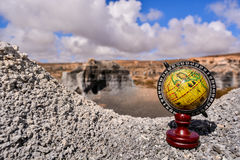 Object in the Dry Desert Royalty Free Stock Photography