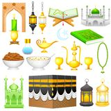Object for Eid design Stock Photography