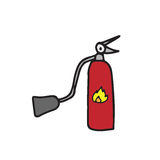 Object fire extinguisher Royalty Free Stock Photo