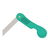 Object folding knife for paper, paper cutter Royalty Free Stock Photography