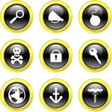 Object icons Royalty Free Stock Photography