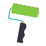 Object for paint roller Stock Images