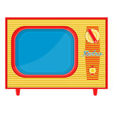 Object retro TV Royalty Free Stock Images