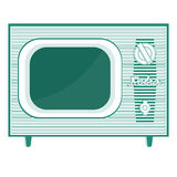 Object retro TV Royalty Free Stock Photography
