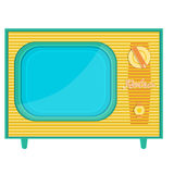 Object retro TV Stock Images
