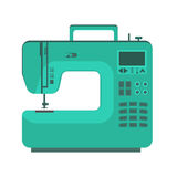 Object sewing machine. Flat design Stock Image