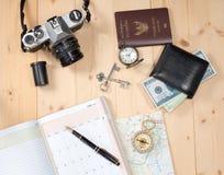Object travel stuff Stock Photo