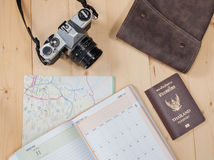 Object travel stuff Stock Images