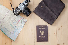 Object travel stuff Stock Photo