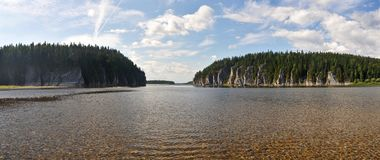 The object of UNESCO world heritage site Virgin Komi forests. Royalty Free Stock Photos