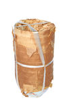 Object wrapped with old package Royalty Free Stock Image