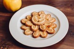 Objecte le biscuit de photo la photographie de détails Image libre de droits