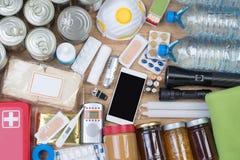 Objecte utile dans les situations d'urgence telles que des catastrophes naturelles photographie stock libre de droits