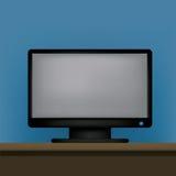 Objecten binnenlandse monitor Stock Fotografie