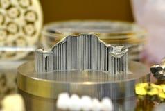 Objecten laser sinterende machine Stock Foto's