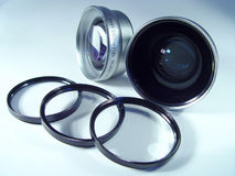 Objectif de caméra images stock