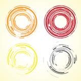 Objectif de caméra abstrait illustration stock