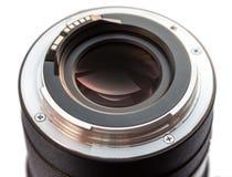 Objectif de caméra de DSLR. Image stock