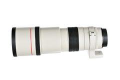 Objectif de caméra de téléobjectif Images stock