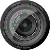Objectif de caméra de vecteur. Image stock