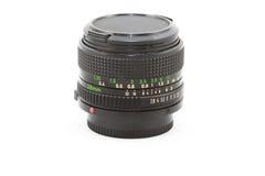 Objectif de caméra de vintage Image stock