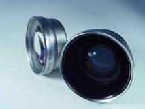 Objectif de caméra deux photo stock