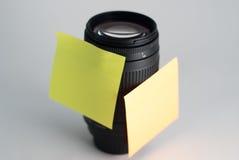 Objectif de caméra noir, Photos libres de droits