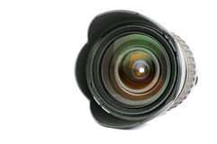 Objectif de caméra professionnel de photo de Digitals Images stock