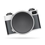 Objectif de caméra Copyspace Photographie stock