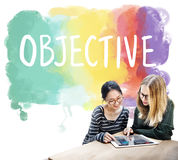 Objective Aim Direction Motivation Plan Target Concept royalty free stock images