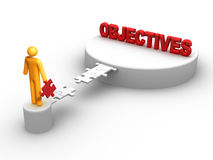 Objectives stock illustration