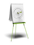 Objectives reached royalty free illustration
