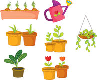 Objects. Illustration of various objects on white Royalty Free Stock Photo