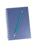 Objects. Illustration of stationary on white stock photos